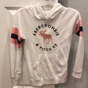 Abercrombie hooded shirt